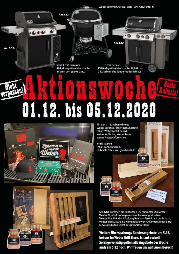 Satte Rabatte, Aktionswoche, Weber Grill Store, Hübsch am Zoo, Grillakademie Düsseldorf, Weber Grill, Sonderangebote
