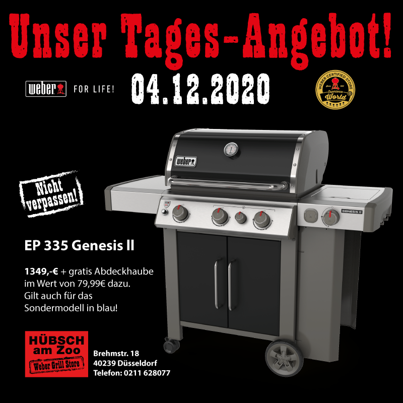 Das Tages-Angebot am 4.12.2020 in unserer Aktionswoche